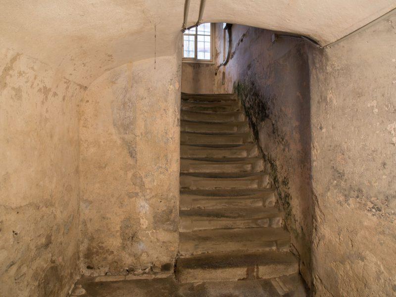 Vorher – Untergeschoss