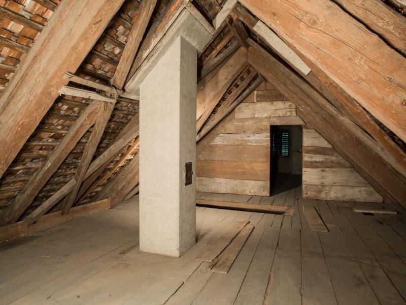 Vorher – Dachgeschoss