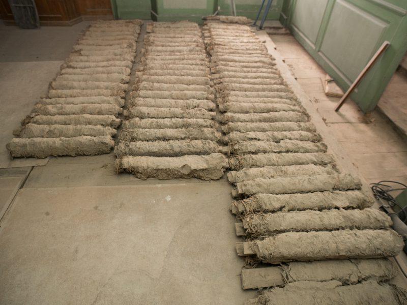 200-jähriges Baumaterial wieder verwendet