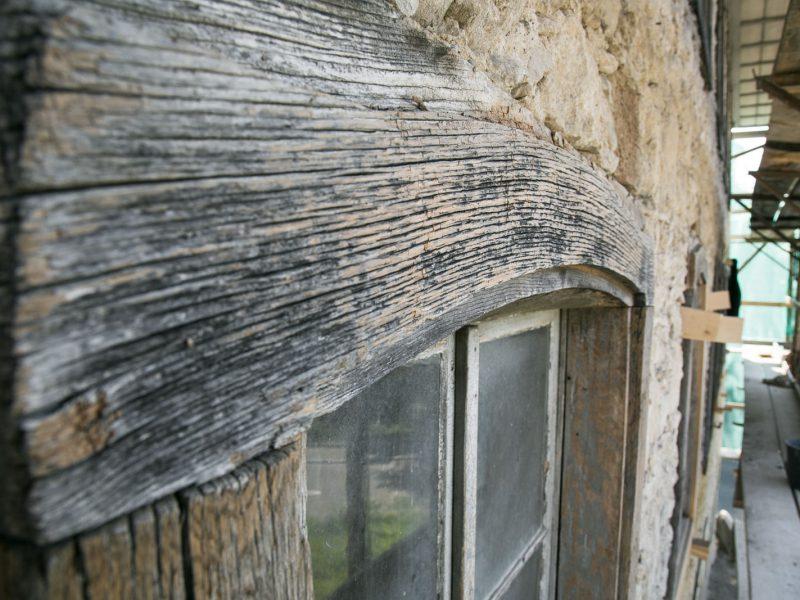 Restaurierung der Fenstergewände