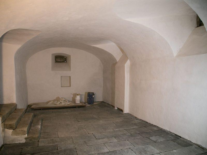 Bauphysikalische Massnahmen im Untergeschoss