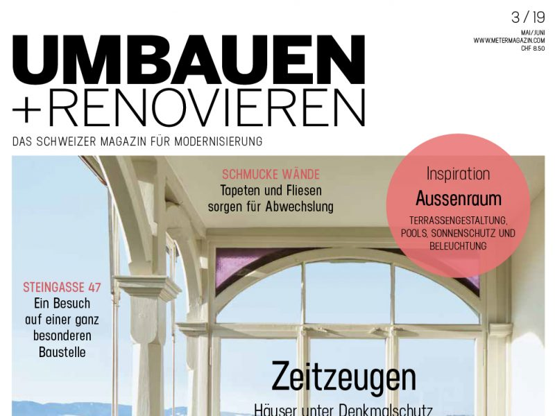 "Artikel im ""Umbauen + Renovieren"""