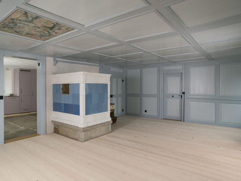 Die Wohnung im Erdgeschoss
